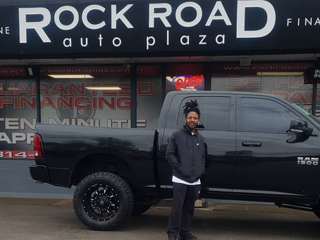 Congrats Rashad on your 2015 Dodge Ram 1500 Lifted Truck!
