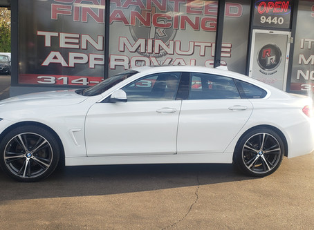 I sold the 2018 BMW 430I to Ms.Sherry. Congrats doll !