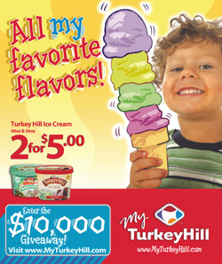 Turkey Hill Print Ad and Poster