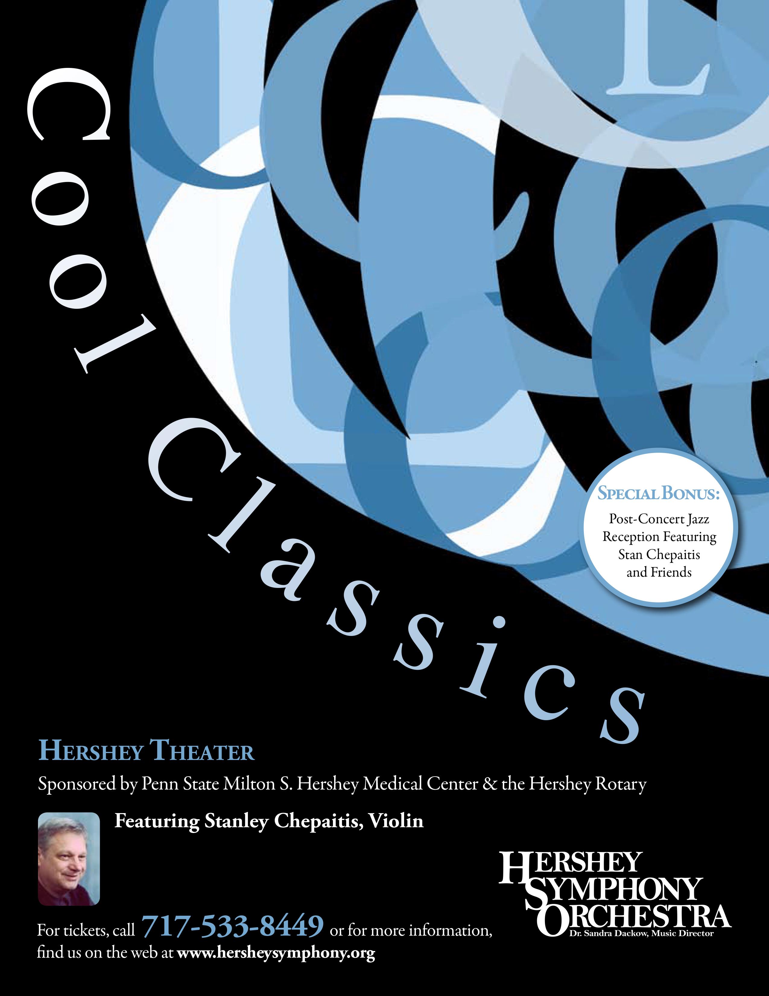 Hershey Symphony Print Ad