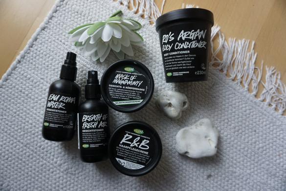 Lush Favorites: Skincare, Haircare, Body