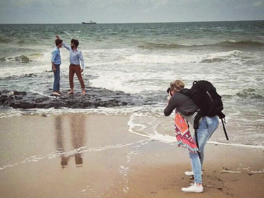 Familieshoot strand Den Helder