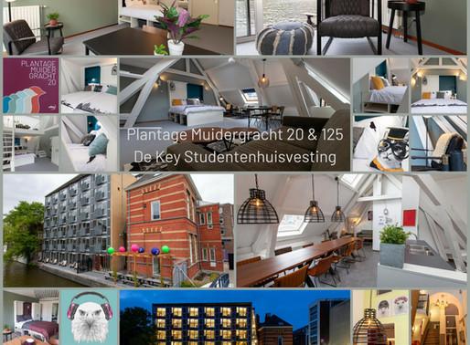 Fotografie heringerichte studentenwoningen Plantage Muidergracht 20 & 125, Amsterdam