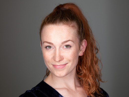Portrait of Lili, dancer.