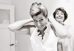 Trouwfotograaf | Trouwfotografie | Bruidsfotograaf | Bruidsfotografie | fotograaf huwelijk | Bruid en moeder