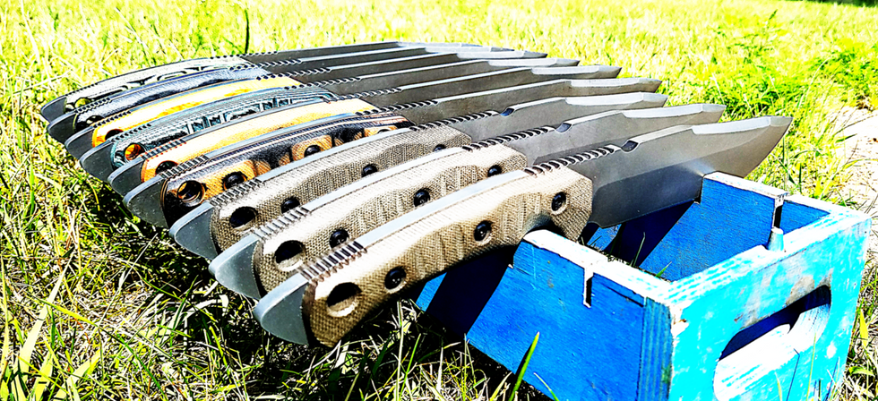 Producing the toughest hard-use blades on the planet!