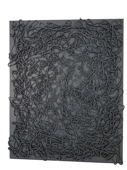 Tableau gris 3D