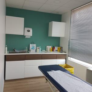 salle de soins après