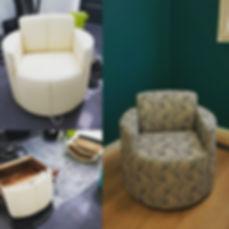 Décoratrice intérieure Essonne 91 - relooking fauteuil art déco - cskdecoration