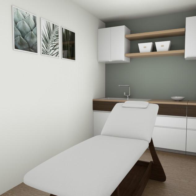 salle de soin 3D