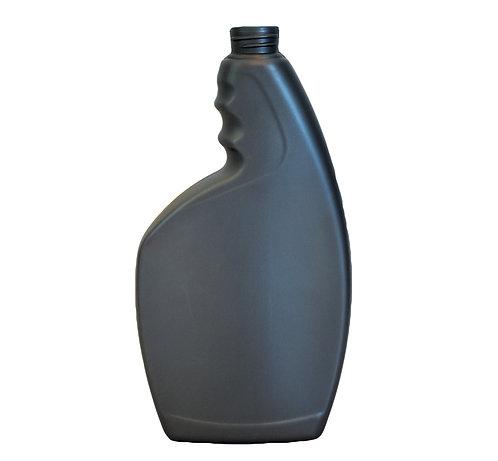 32 oz 28-410 Grey Pistol Grip HDPE Spray Bottle