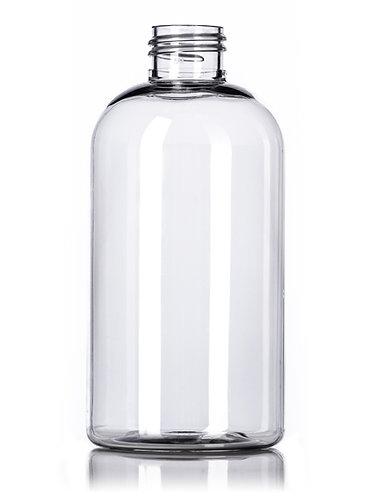 8 oz 24-410 Boston Round PET Bottle