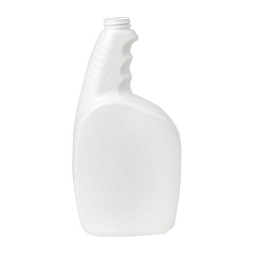 32 oz 28-410 White Pistol Grip HDPE Spray Bottle