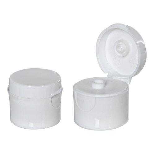 White High Collar Flip Caps