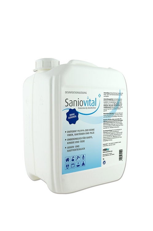 Saniovital® Desinfektionslösung 5000 ml