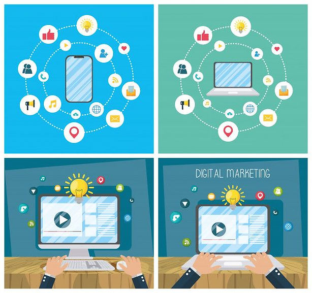 digital-marketing-tech-with-electronic-d