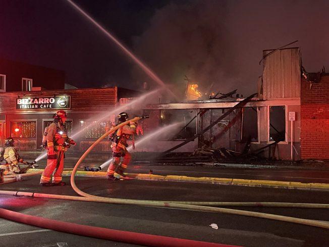 Fire in White Center