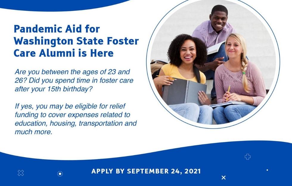 Washington Foster Care Pandemic Aid