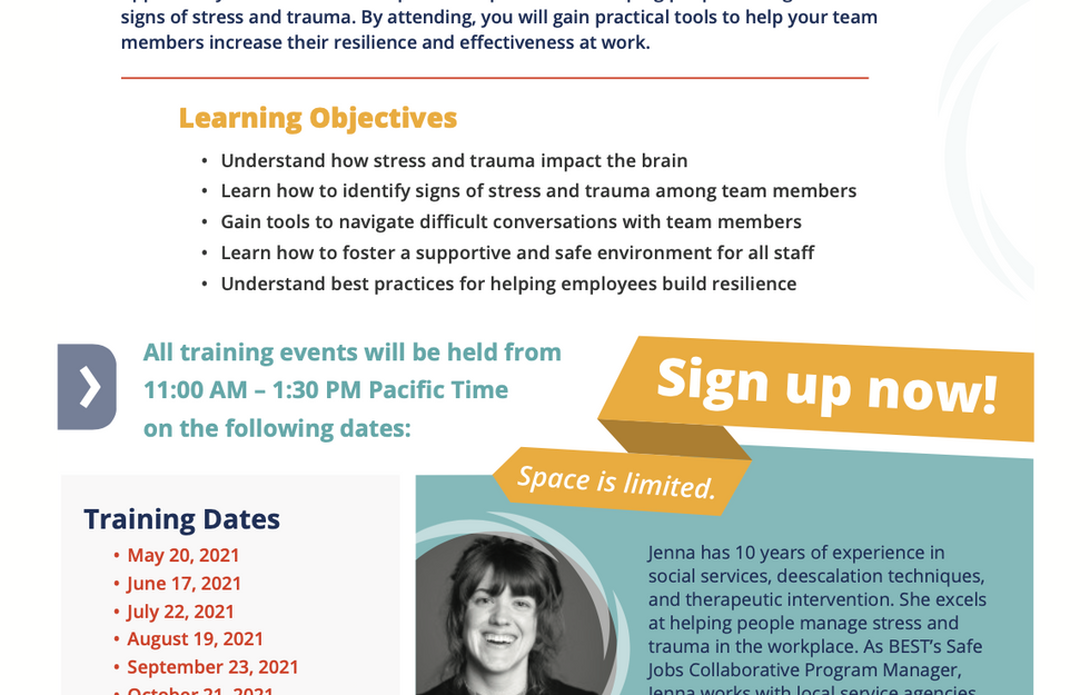 Stress & Trauma Workshop