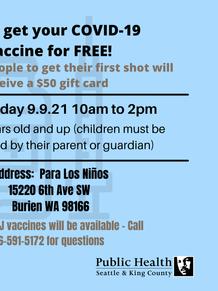Para Los Ninos Vaccine Event