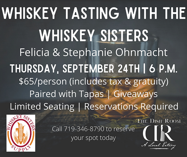 Whiksey Tasting with the Whiskey Sisters