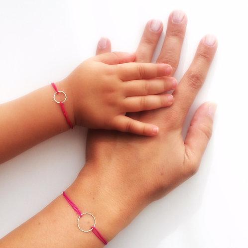 Mother & Daughter - Lucky Charm Bracelet set