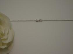 Bracelet Chain infinity silver2