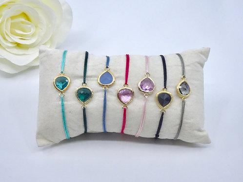 My lovely stone - Lucky charm bracelet