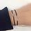 Thumbnail: Toi & Moi lucky charm bracelet