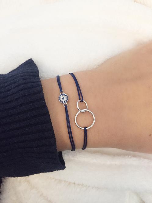 Toi & Moi lucky charm bracelet