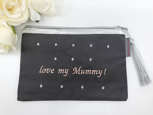 « Love my Mummy » Purse