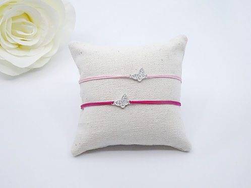 Little butterfly - lucky charm bracelet