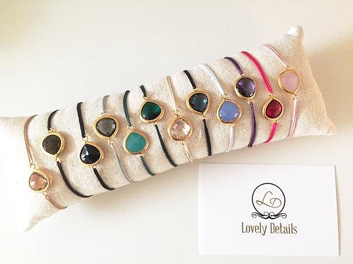 Lovely Stone - Lucky charm Bracelet