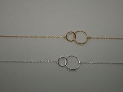 Bracelet Chain Toi et Moi gold.