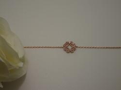Bracelet Chain Shiny ROsalie pink3