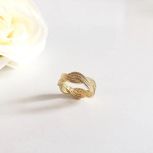 Carolina Ring gold plated