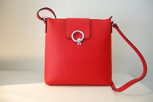 Handtas rood groot