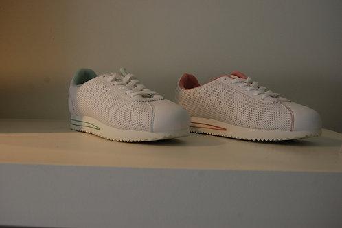 Sneaker wit met kleur