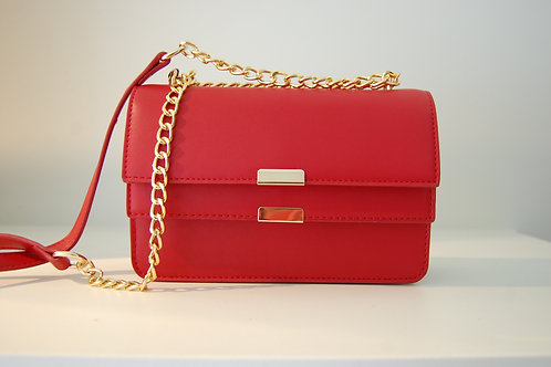 Handtas rood klein