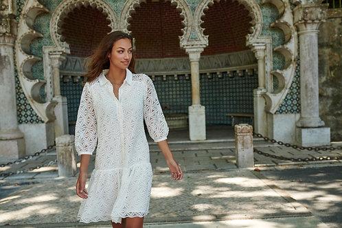 Witte kanten jurk Esqualo