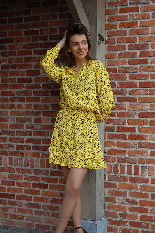 Gele jurk Esqualo