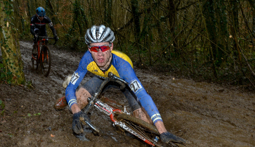 Misch Leyder (VC Diekirch) at the Cyclo-Cross Nationals in Luxembourg