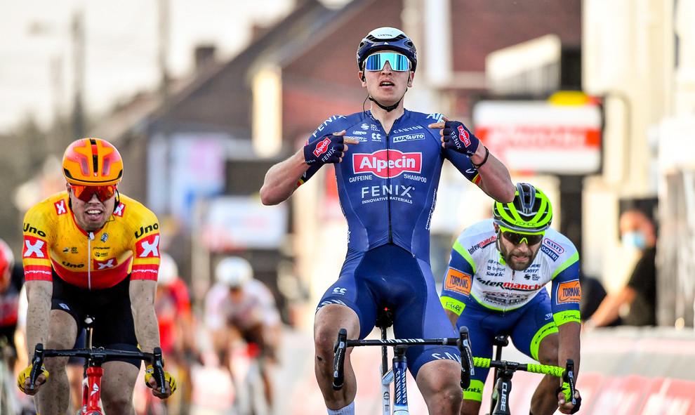 Tim Merlier (B/Alpecin-Fenix) wins Le Samyn 2021.