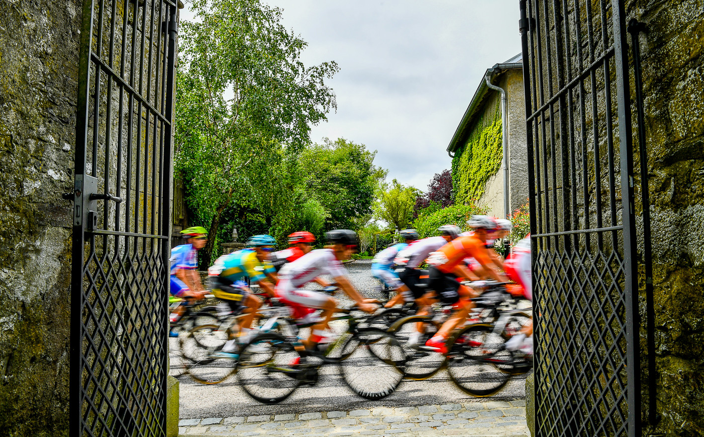 The riders at the GP de Luxembourg.