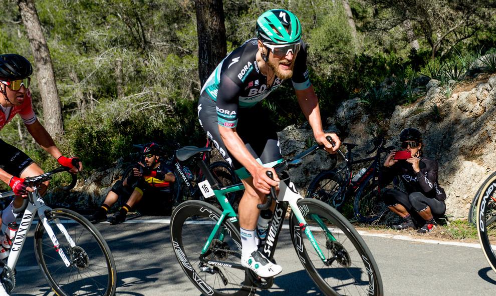 Jempy Drucker (L/Bora) at the Mallorca Challenge 2020.
