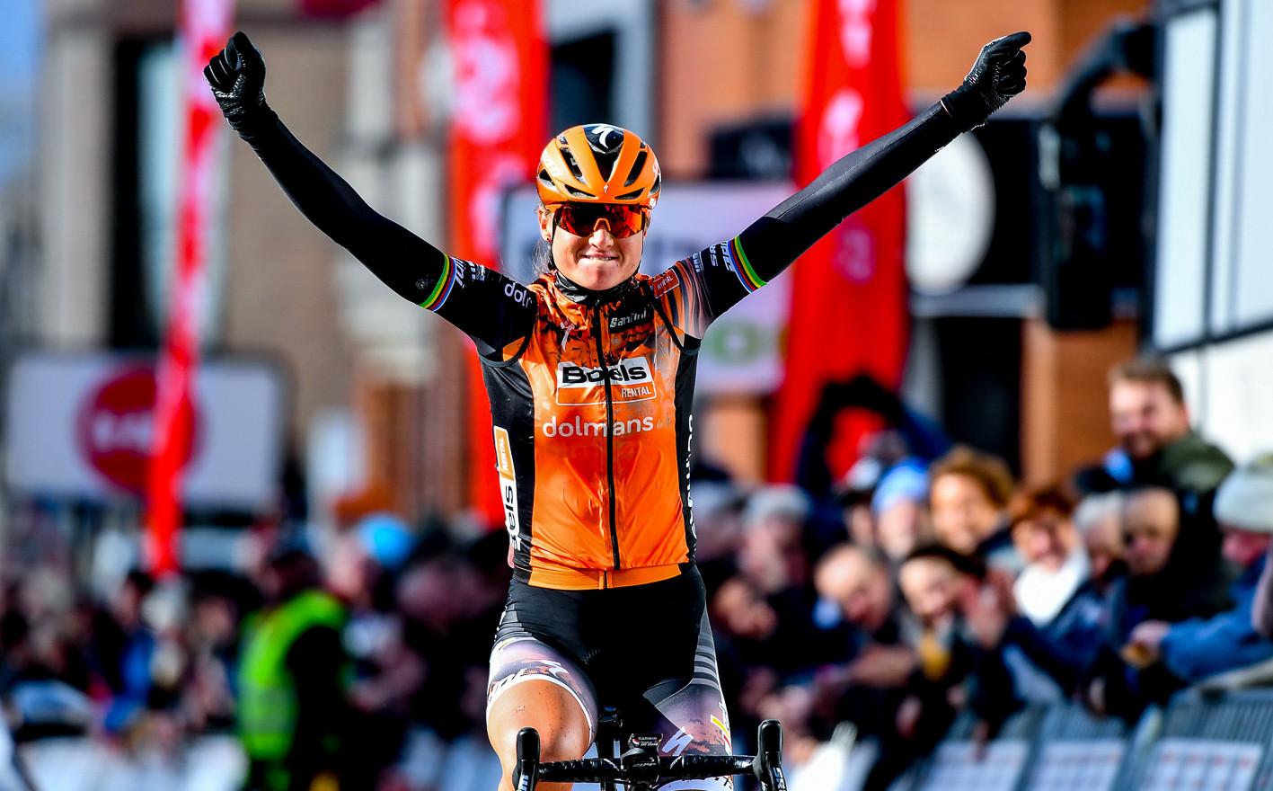 Chantal Van den Broek-Blaak (NL/Boels) wins Le Samyn des Dames 2020.