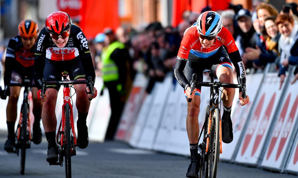 Christine Majerus (L/Boels) finished second at Le Samyn des Dames 2020.