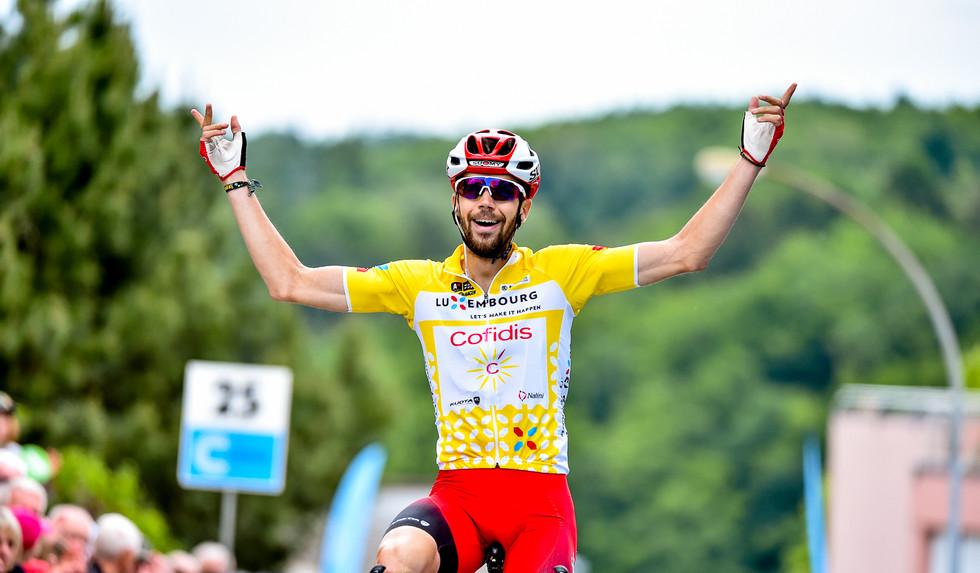 Jesus Herrada (E/Cofidis) takes the overall victory at the Skoda Tour de Luxembourg 2019.