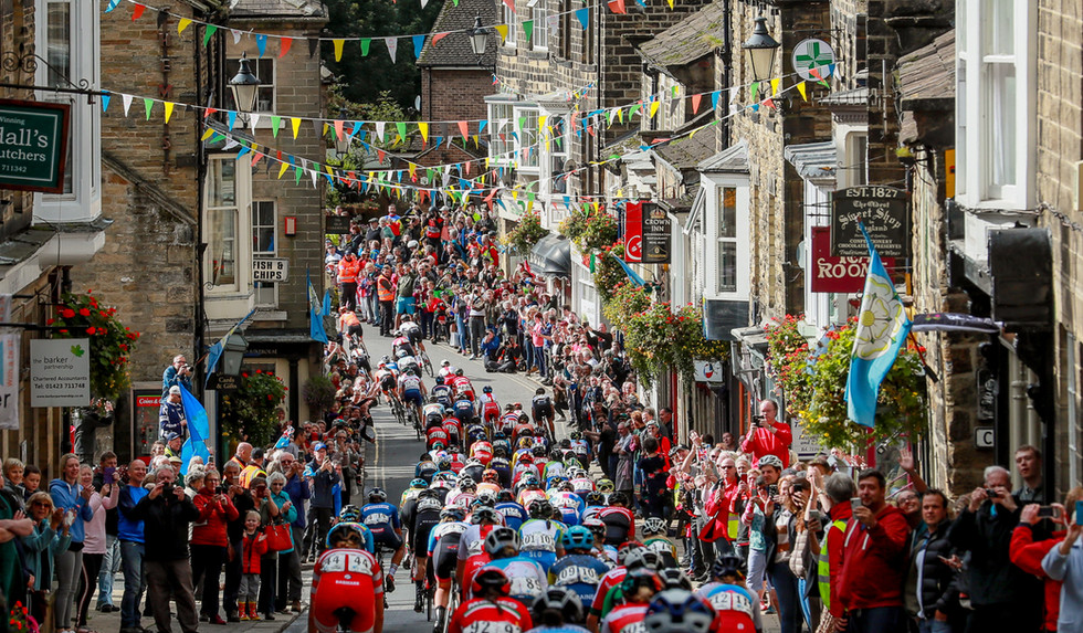 The Women road race at the 2019 Road World Championships in Yorkshire.