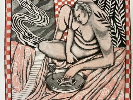 MFA Thesis Exhibition:             Claire Ragland's Slip Stream & Jennifer Jones' and there I was